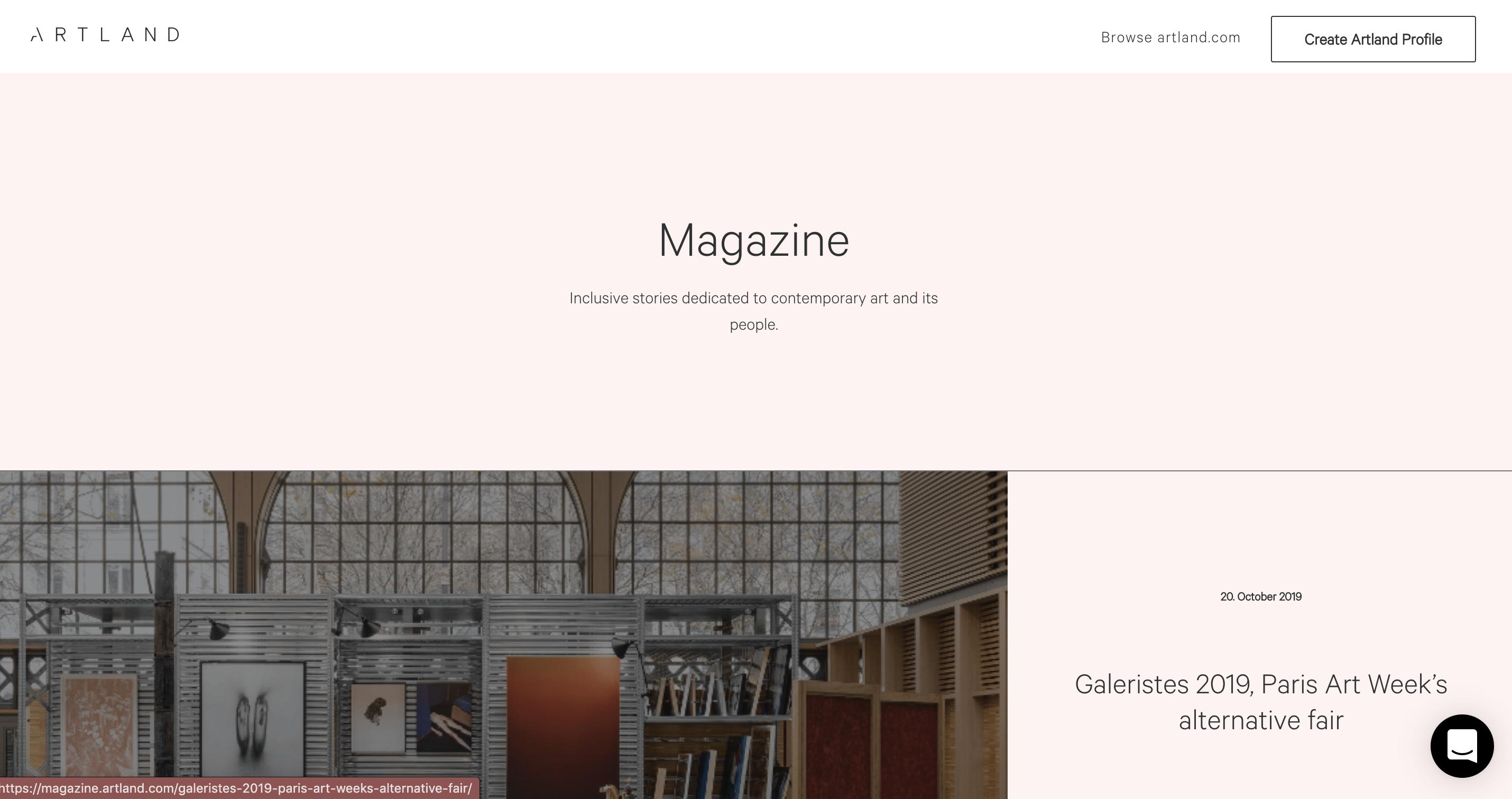 Artland Magazine